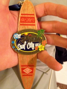 Surf City Finishers MedalSurf City Finishers Medal