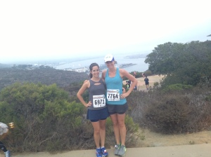 Pre-Race. Look at that view!