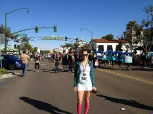 Cardiff Kook 10k. 1 week into foot injury.
