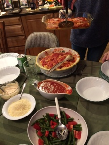 I enjoyed homemade Italian meals all weekend long!