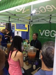 Meeting Vega peeps