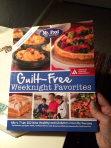 Cookbook from American Diabetes Association. Delish!